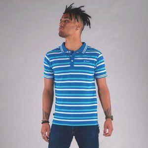 Cuzy T Men's Blue Short Sleeve Jovan Polo T-Shirt